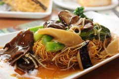 Chinese Style Vegetarian Cuisine Stock Photography