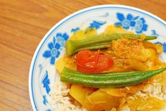 Chinese style vegetarian curry Stock Photography