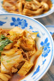 Chinese style vegetarian delicacy Stock Photos