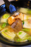 Chinese style vegetarian soup Stock Images