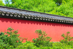 Chinese style wall Stock Photo