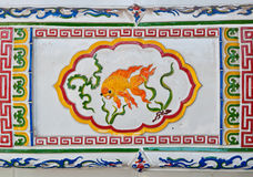 Chinese style wall tiles Royalty Free Stock Photos
