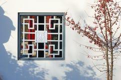 Chinese style window Royalty Free Stock Image