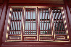 Chinese-style windows Stock Photography