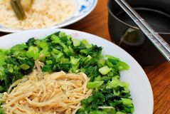 Chinese Styled Cuisine Royalty Free Stock Photos