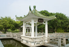 Chinese summer-house, Sanya Stock Image