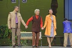 Chinese Suzhou Burlesque Drama actors Stock Photo