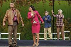 Chinese Suzhou Burlesque Drama Royalty Free Stock Images