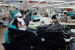 Chinese sweat factory Stock Photography