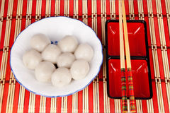 Chinese sweet dumplings Stock Images
