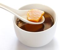 Chinese sweet potato soup Stock Photos