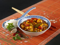 Chinese sweet sour Stock Image