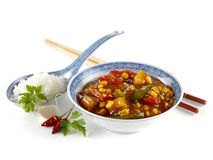 Chinese sweet sour Stock Photo