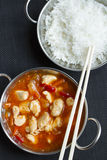 Chinese sweet and sour Royalty Free Stock Photo