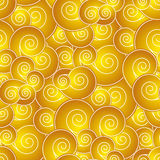 Chinese swirl seamless pattern Royalty Free Stock Photo