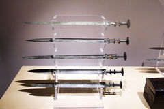 Chinese swords Stock Photography