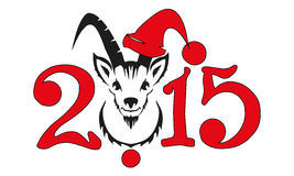 Chinese symbol vector goat 2015 year. Illustration image design Vector Illustration