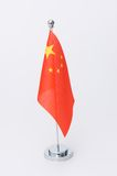 Chinese table flag Stock Photo