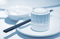 Chinese Tableware. Simple Chinese tableware, everyday items Royalty Free Stock Image
