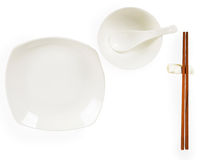 Chinese tableware Royalty Free Stock Photo