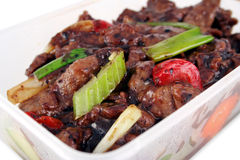 Chinese take out with clipping path Stock Images