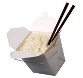 Chinese take-out food Royalty Free Stock Photography