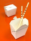 Chinese Takeaway Box Stock Image