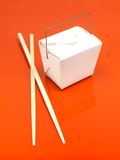 Chinese Takeaway Box Royalty Free Stock Images