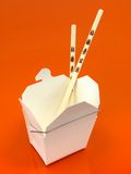 Chinese Takeaway Box Royalty Free Stock Photography