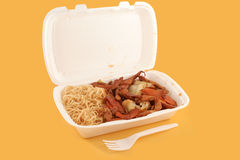 Chinese takeout royalty free stock photos