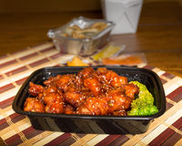 Chinese Takeout Stock Photo