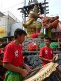 Chinese tambourine Stock Photography