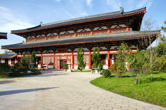 Chinese Tang Dynasty architecture Royalty Free Stock Photography