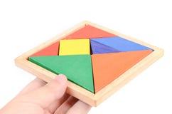 Chinese tangram Royalty Free Stock Photo
