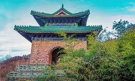 Chinese Taoist architectuur, stock afbeelding