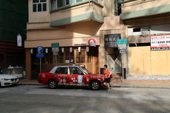 Chinese Taxi Royalty Free Stock Images