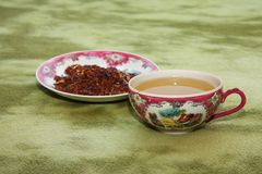 Chinese tea. In a chinese cup Royalty Free Stock Image