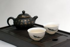 Chinese tea. Still-life about chinese tea ceremony in the morning Stock Photo