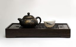 Chinese tea. Still-life about chinese tea ceremony in the morning Stock Photos