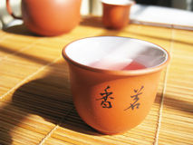 Chinese tea. A cup of Chinese tea, culture healthy drinks in China Stock Photography