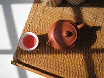 Chinese tea. A art of Chinese tea, culture healthy drinks in China Royalty Free Stock Image
