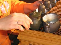 Chinese Tea. Ceremony Stock Images