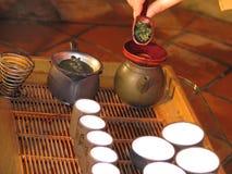 Chinese Tea. Ceremony Royalty Free Stock Image