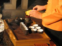 Chinese Tea. Ceremony Royalty Free Stock Photography