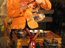 Chinese Tea. Ceremony Royalty Free Stock Photos