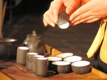 Chinese Tea. Ceremony Royalty Free Stock Images