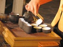 Chinese Tea. Ceremony Stock Photo