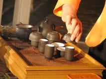 Chinese Tea. Ceremony Stock Image