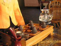 Chinese Tea. Ceremony Stock Photography