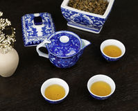 Chinese Tea Array Royalty Free Stock Photo